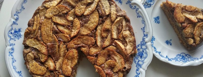 Foto Simona Scarone Torta di mele polenta taragna senza glutine