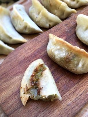 Gluten free Veggies Dumplings | Photo + recipe © Orsola Ciriello Kogan